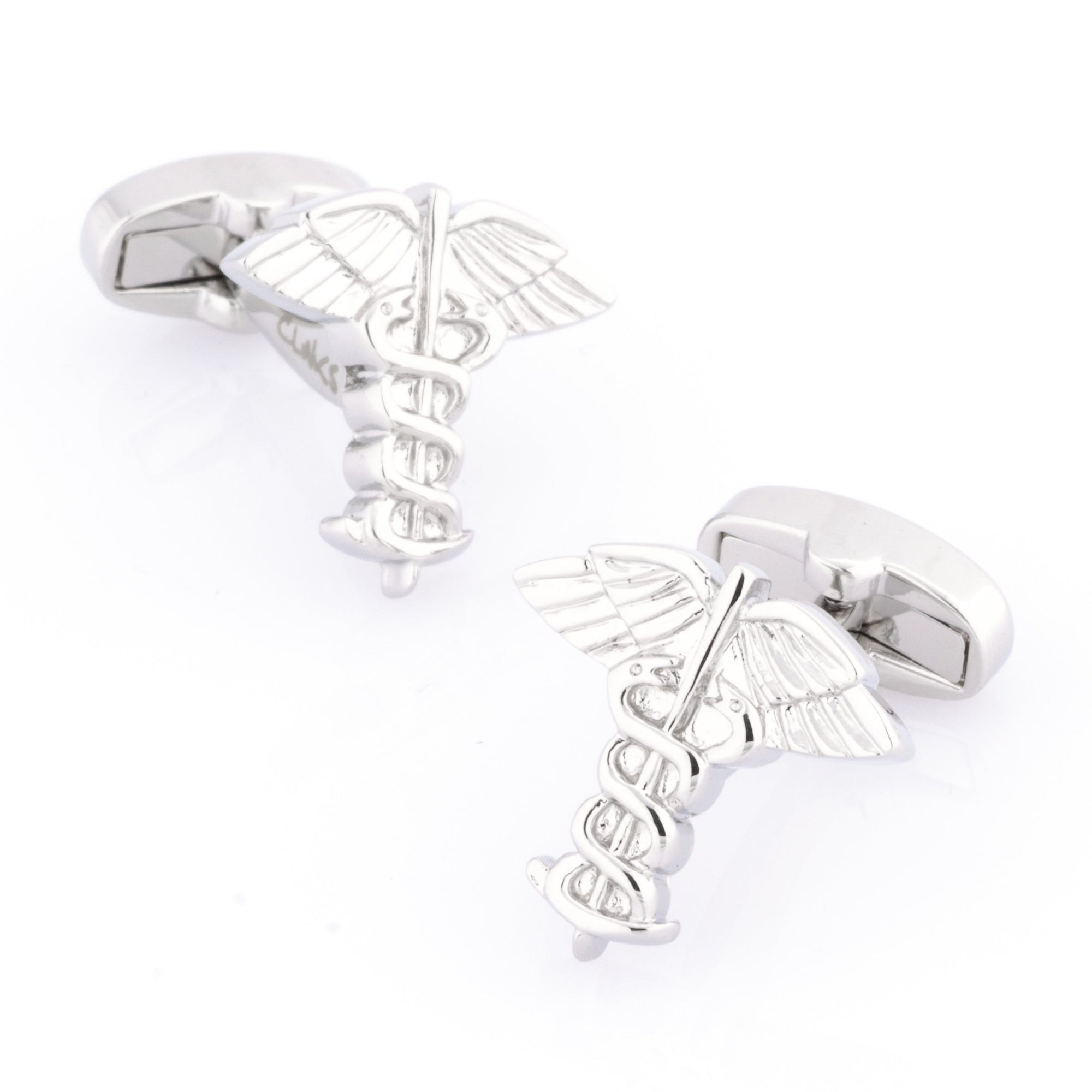 Caduceus Medical Symbol Cufflinks Novelty Cufflinks Clinks Australia