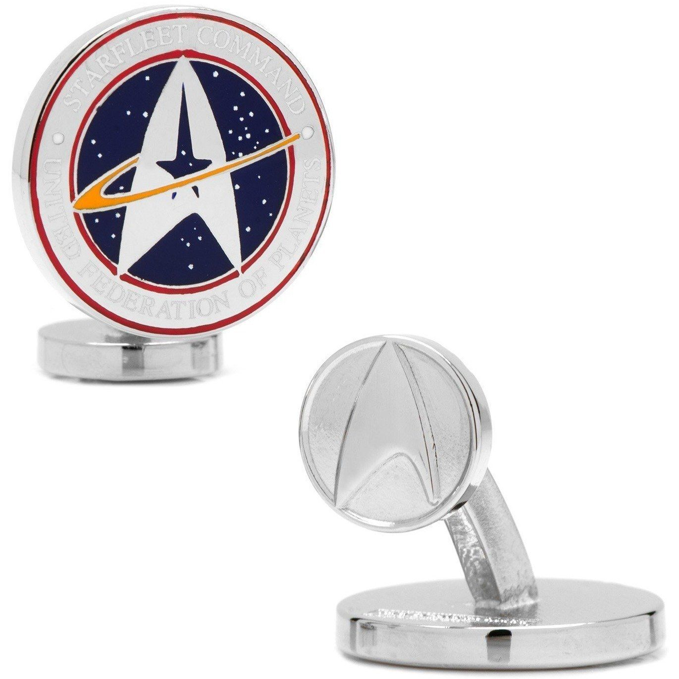 Star Trek Starfleet Command Cufflinks Novelty Cufflinks Star Trek Star Trek Starfleet Command Cufflinks
