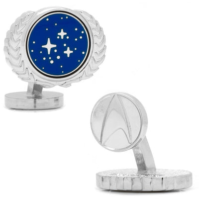 Star Trek UFP Cufflinks Novelty Cufflinks Star Trek Star Trek UFP Cufflinks