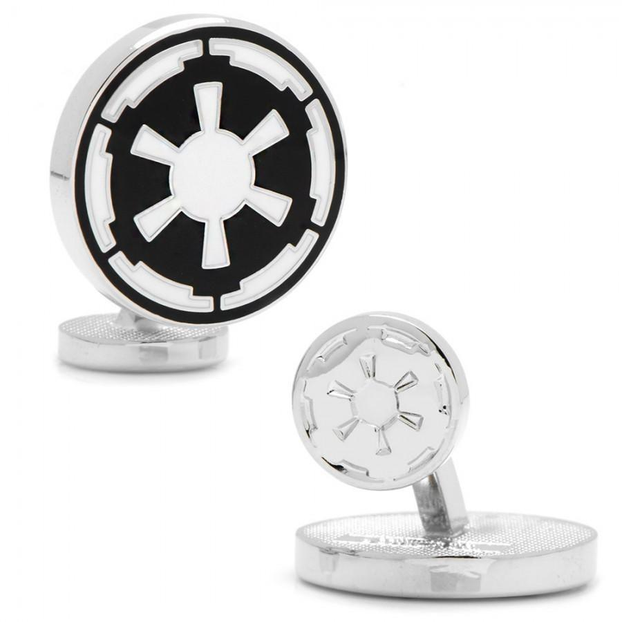 Star Wars Imperial Empire Symbol Cufflinks, Novelty Cufflinks, Cuffed.com.au, CL5880, $69.00