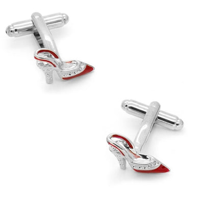 Stiletto High Heels Shoe Cufflinks Red Novelty Cufflinks Clinks Australia