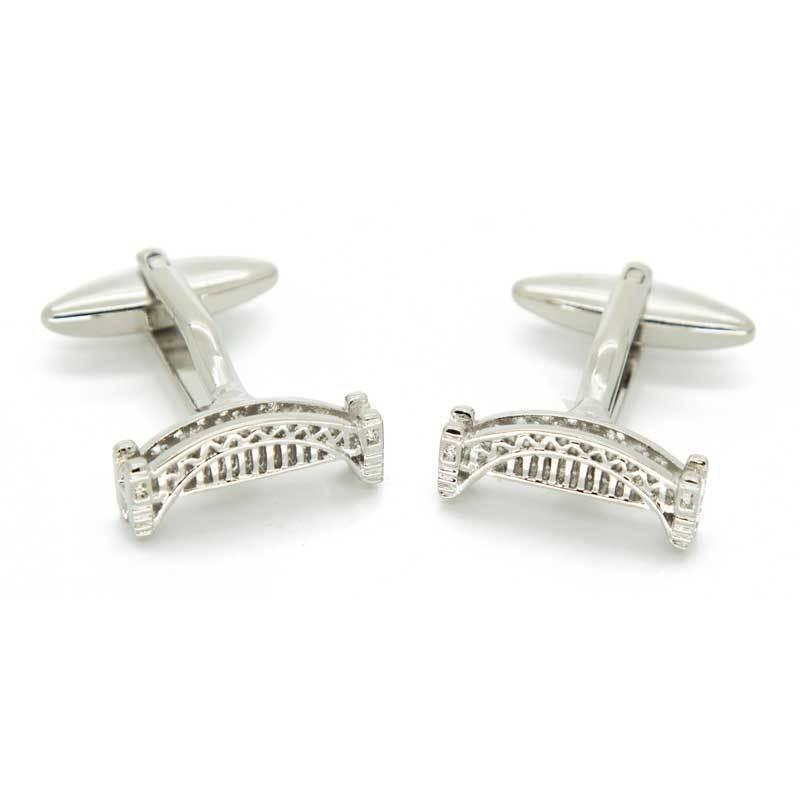 Sydney Harbour Bridge Cufflinks, Novelty Cufflinks, Cuffed.com.au, CL8531, $29.00