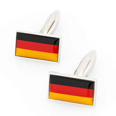 Flag of Germany - German Flag Cufflinks Novelty Cufflinks Clinks Australia Flag of Germany - German Flag Cufflinks