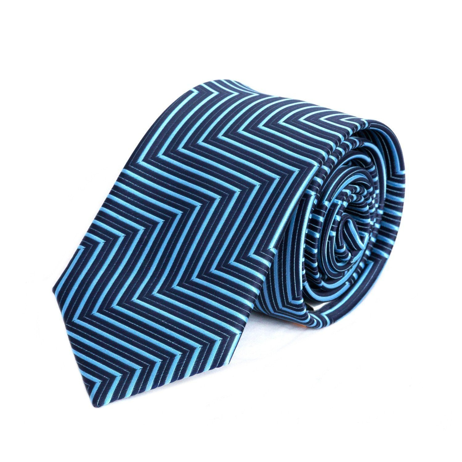 Blue Corners MF Tie