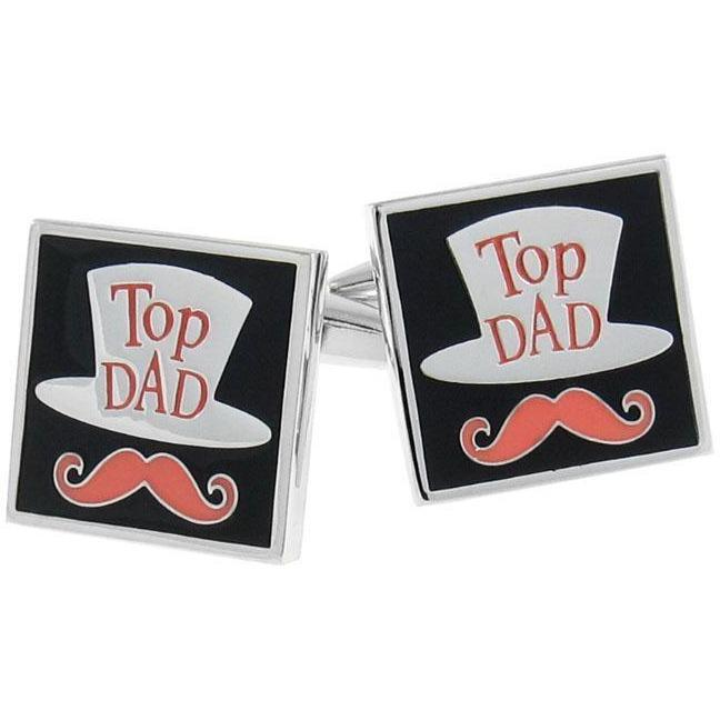 Top Dad Cufflinks, Novelty Cufflinks, Cuffed.com.au, CL8443, $29.00