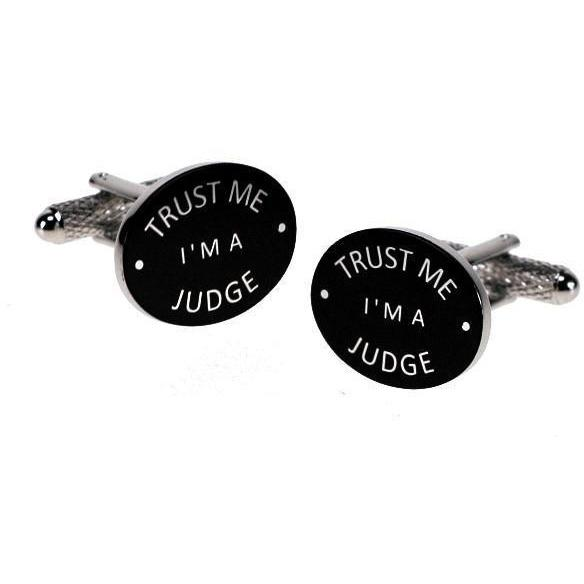 Trust Me I'm a Judge Cufflinks, Novelty Cufflinks, Cuffed.com.au, ZBC2947, $38.50