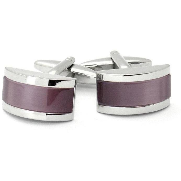 Twilight Purple Cateye Cufflinks Clinks Australia