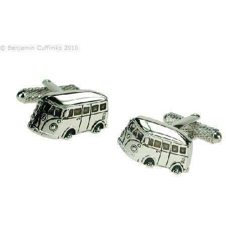 VW Combi Van Cufflinks, Novelty Cufflinks, Cuffed.com.au, ZBC4362, $39.00