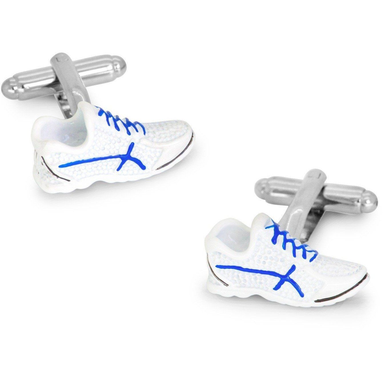 White Trainer Sneakers Cufflinks Clinks Australia