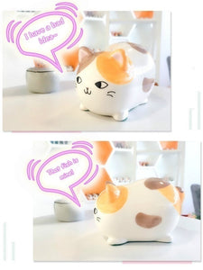 Adorable Kitty Cartoon Room Decor