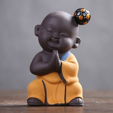 Funny and Cute Kung Fu Football Monks Figurines, Creative Decorative Collectibles
