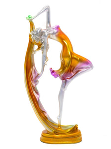 NEWQZ Resin Dancer Figurine for Home Decor Tabletop Display,Living Room Decoration, House Improvement Ornaments