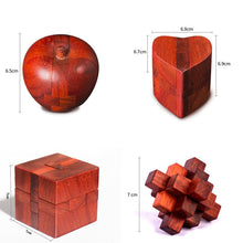 Brilliant Talent Handmade High Quality Wood Puzzle In The Popular Video, Wisdom Craft Collectibles