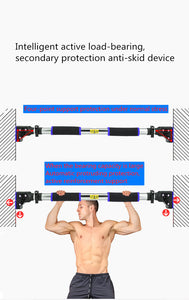 Pull Up Bar-Chin Up Bar for Doorway-Upper Body Workout with Safety Locking Catch, Home Fitness Exercise