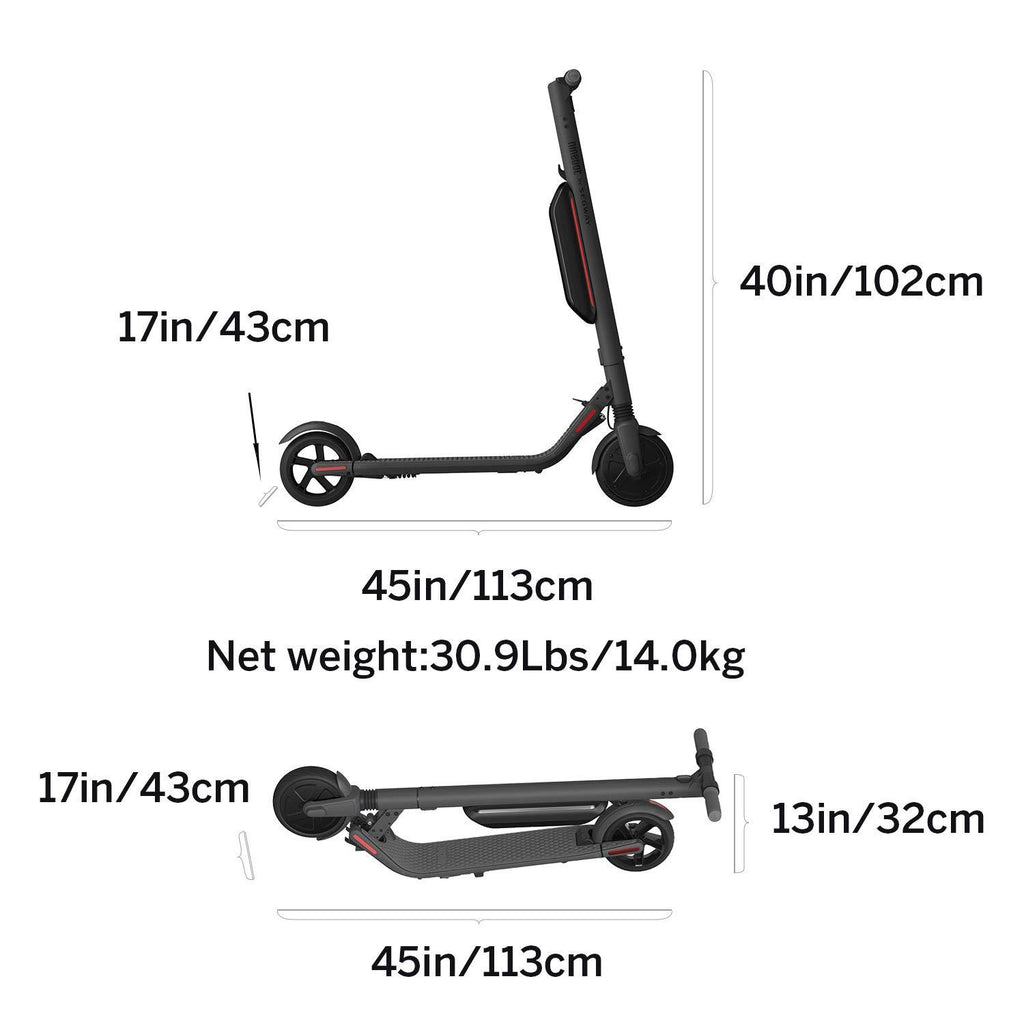 Segway Ninebot ES4 KickScooter w 2nd Battery - Pro Electric Kick Scooter  for Adults
