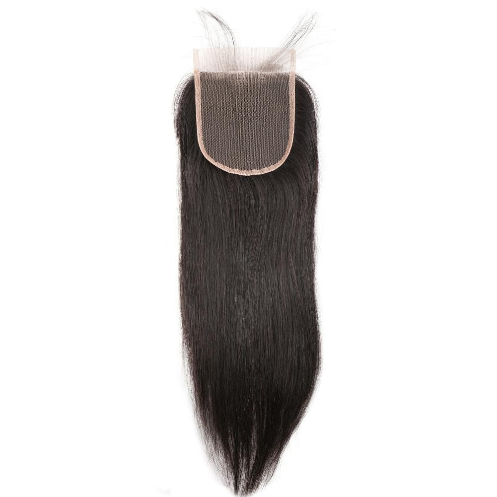 8A 4x4 Lace Closure - Premium Quality Brazilian Real Remy Virgin Human Hair Extension