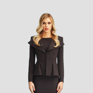 Woman in Black Blazer by Kaya Turello