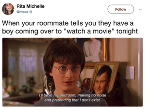 Sex & Roommates