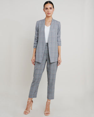 Wilma Grey Check Pants
