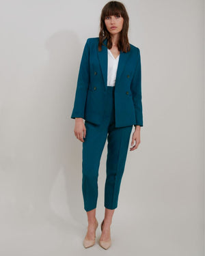 Adley Suit High Waist Slim Leg Pants
