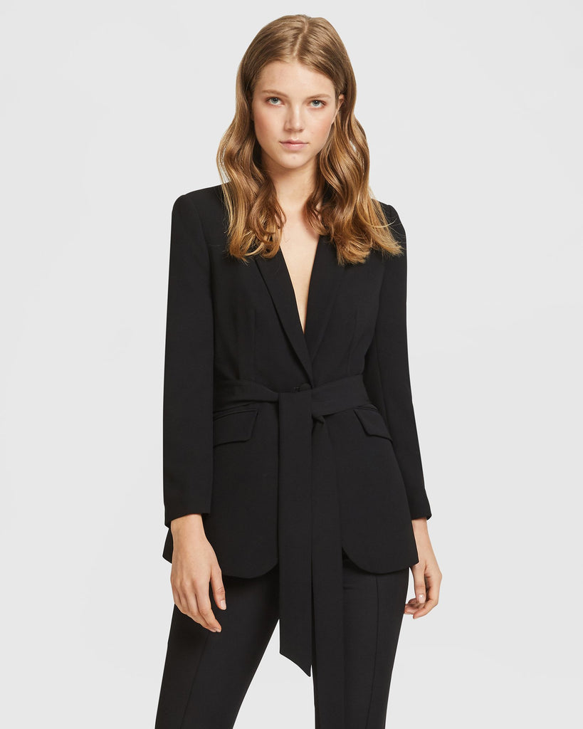 Black Blazer with belt