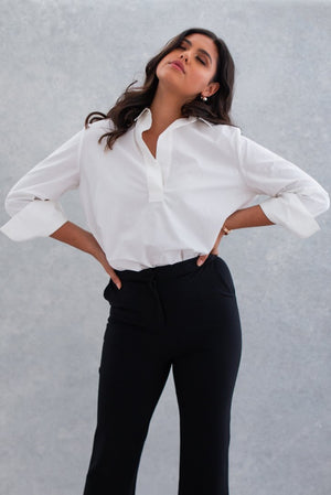 The White Cotton Blouse