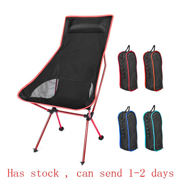 Outdoor Ultralight Folding Moon Chairs