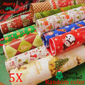 5pcs Wrapping Paper