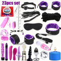 23pcs Sexy Lingerie Nylon Bondage Sex Toy Exotic Set