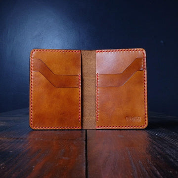 "The ""Tall"" - Buttero Leather Wallet"