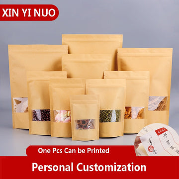 50Pcs/Lot Craft Paper Bag