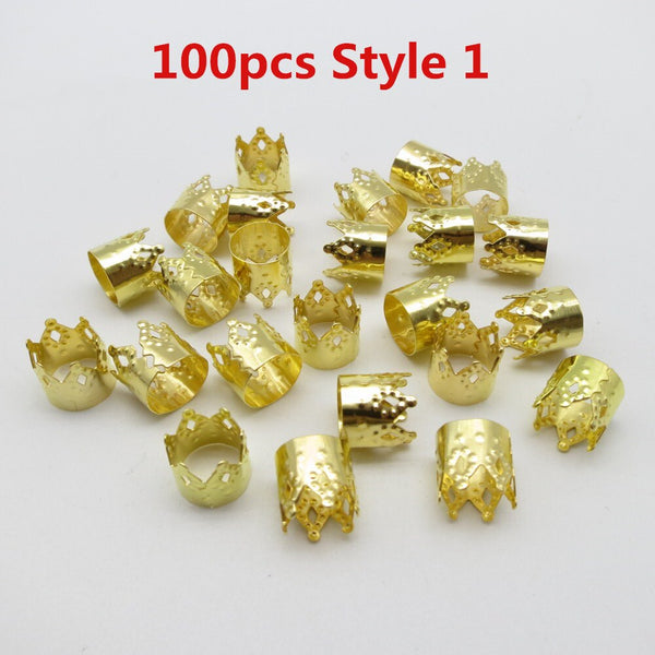 100pcs Crown Hair Decoration