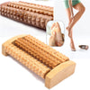 NEW Heath Therapy Relax Massage Relaxation Tool Wood Roller Foot Massager Stress Relief  Health Care Therapy Foot Massagers