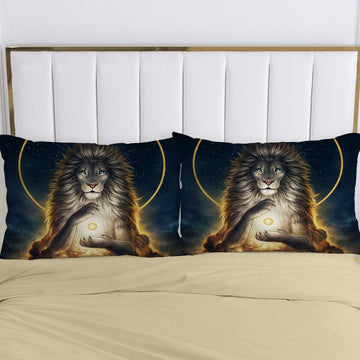 2pc Pillow Case Pillowcase Animal Decorative