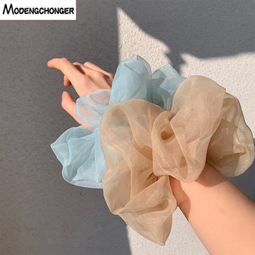Big Size Organza Hair Scrunchies