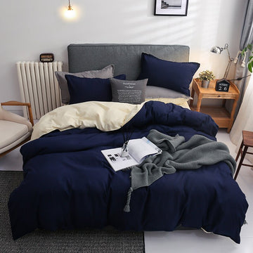 Nordic Double Color Bedding Set