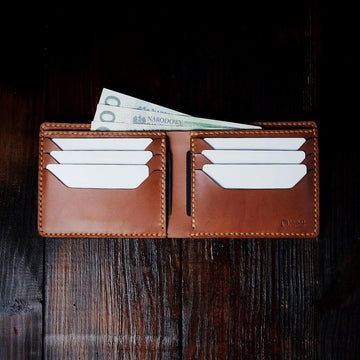 "The ""Horizontal"" - Buttero Leather Wallet"