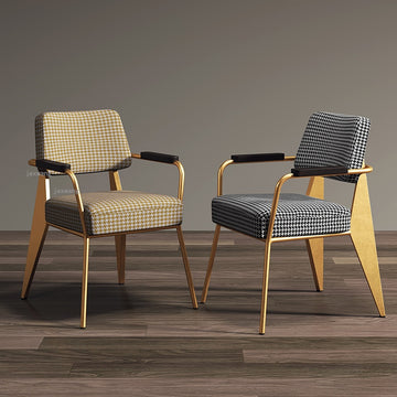 Nordic Light Luxury Dining Chairs Post-Modern Minimalist