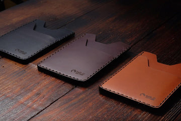 "The ""Skinny"" - Buttero Leather Wallet"