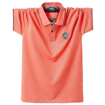 Short Sleeve Cotton Polos