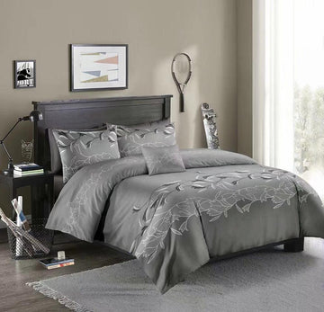Luxury Lace Solid Color Bedding Set