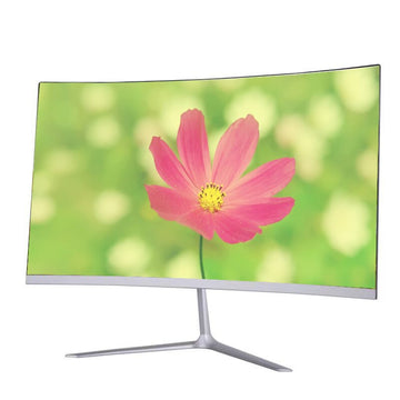 Curved Screen Gaming Computer Monitor 24 Inch LED Monitor
