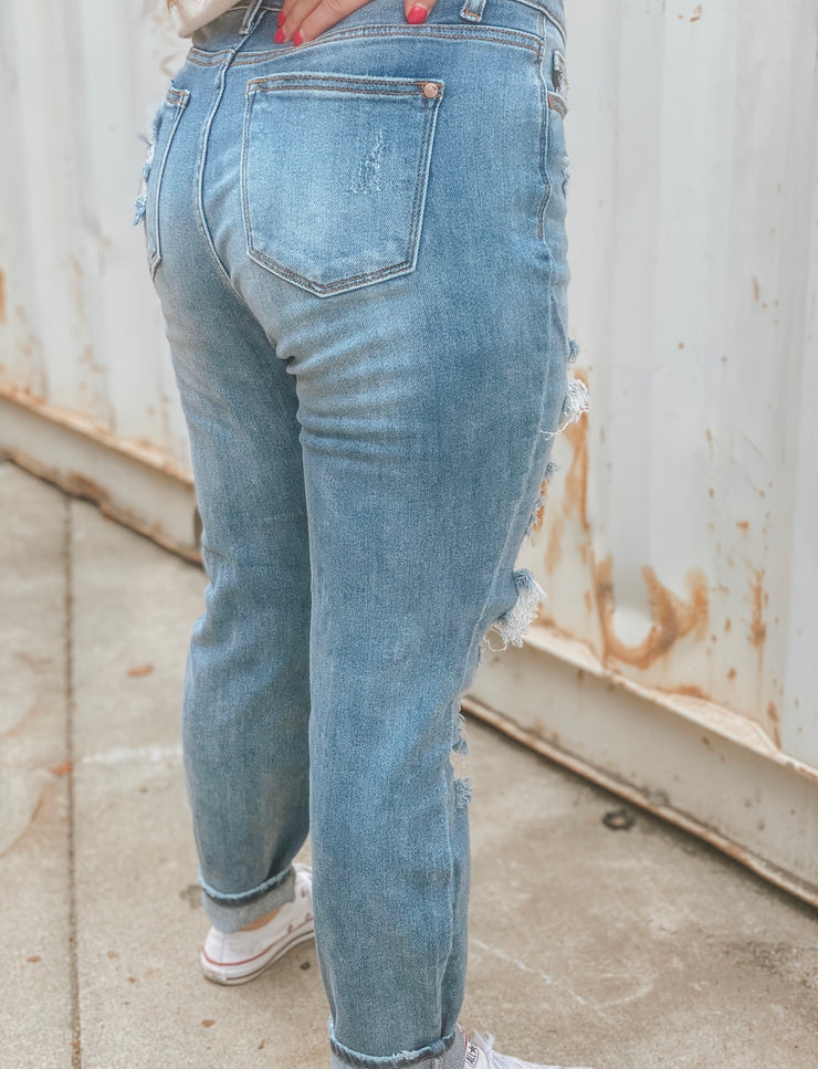 Beauty On Fire Boyfriend Jeans