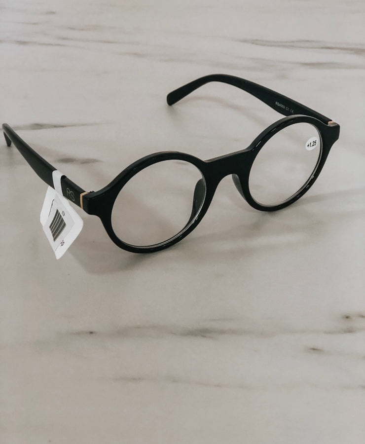 The Susan Readers- Round Black