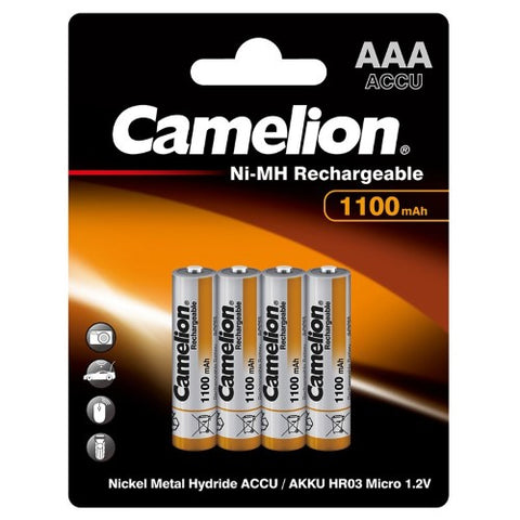 Camelion Rechargeable AAA Batteries