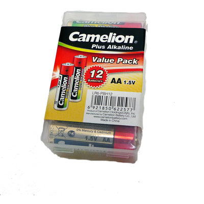 Camelion Plus Alkaline AA (12 Pack)