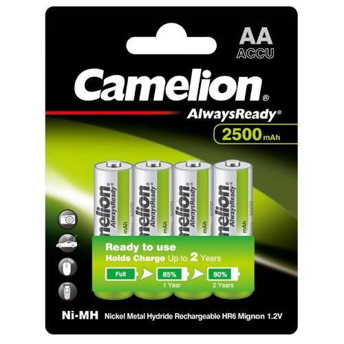 Camelion Alwaysready 2500mAh AA 4Pk