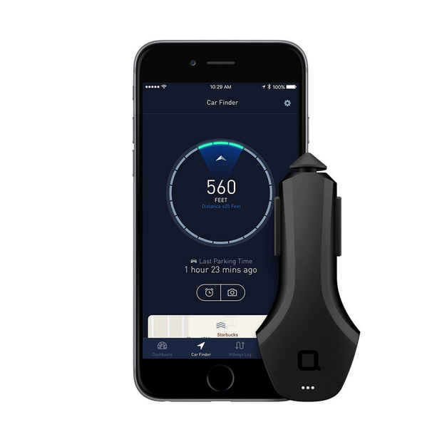 Nonda ZUS Quick Charge Smart Car Charger and Vehicle Finder