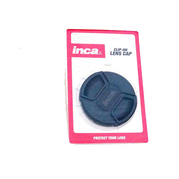 Inca 72mm Lens Cap Clip On