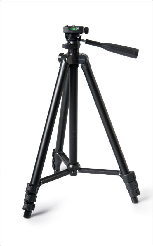 Inca ICI3130B Tripod with 3-Way Head Black